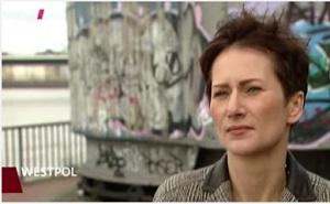 Standbild WDR WESTPOL vom 10.05.2015 - Dr. Lilia Monika Hirsch
