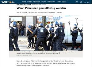 Screenshot - Artikel in der WELT vom 05.07.2015