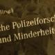 Collage Buchcover: Karlheinz Liebl, Schriften zur Empirischen Polizeiforschung, 21, Band,