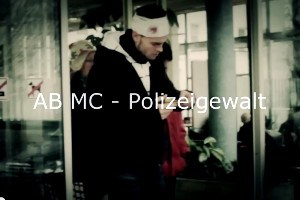 Musikvideo AB MC Polizeigewalt Screenshot