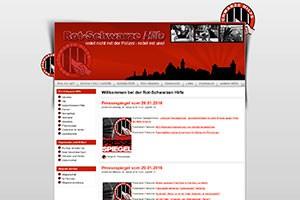 Screenshot Rot-Schwarze-Hilfe Nürnberg